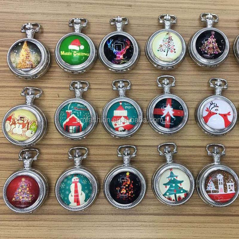 Christmas Halloween Gift Design Vintage Pocket Watch