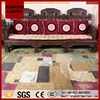 Vintage Chinese National Style Hotel Shaggy Carpet With Custom Logo