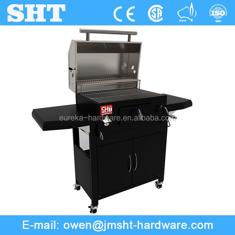 China Market Stainless Metal Prestige Barbecue Grill Charcoal
