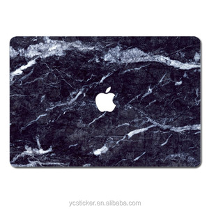 Wholesale Computer Commonly Used Accessories Marble Stickers Skins for MacBook