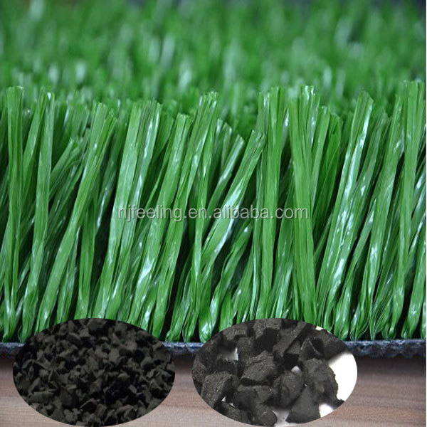 Rubber Granules For Artificial Grass,Blue Colored Rubber Mulch Fn ...