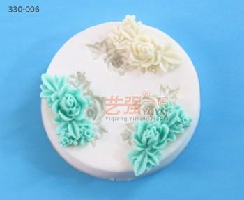 3d De Pastel De Silicona Decoración Moldes Flor Fondant Pastel Decoración Herramientas Flores Comestibles Decoraciones De La Torta Pastel De Buy 3d