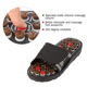 New Foot Massage Slippers Acupuncture Therapy Massage Shoes For Foot Appoint Activating Reflexology Feet Sandal