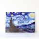 Starry Night by Vincent Van Gogh The Classic Arts Reproduction/Art Giclee Print on Canvas/Stretched Gallery Wrapped