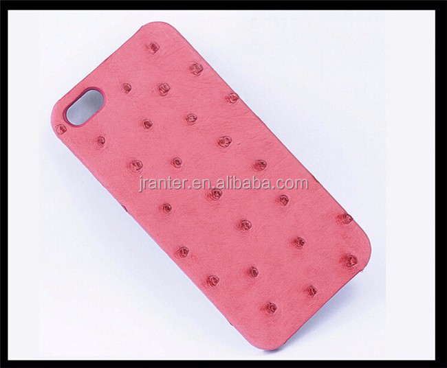 New arrival genuine ostrich leather case for iphone 6/6S/6 Plus/6S Plus
