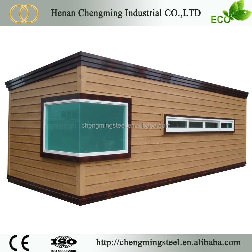 Fire Resistant Affordable Solid Prefab Cheap Heat Insulation Material Luxury Container House With Faucet