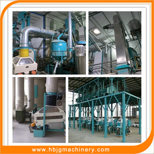Automatic 50 tons maize flour mill price, wheat flour mill plant