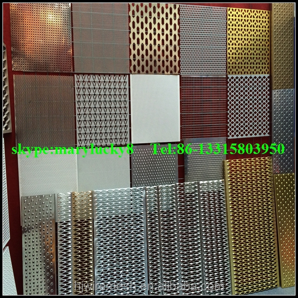 Copper Sheet Perforated Metal Mesh Perforated Copper Sheet