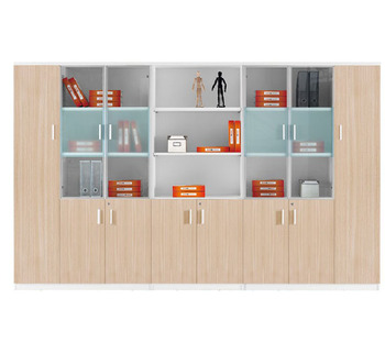 File cabinet with glass door book cabinet with doors