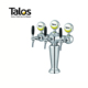 TALOS Parisian Tap Tower Chrome 3-way Dispensing Tower Draft Beer Tower