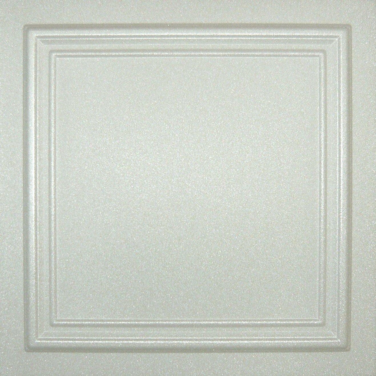 Buy R24w White 20x20 Amazing Styrofoam Ceiling Tiles Easy To Glue Up