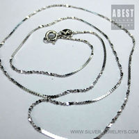 Costume Jewelry Supplies 925 Silver Chains
