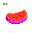 Fashion wholesale metal color Diamonds shape hair combs for girls