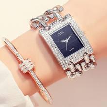 Часы для женщин 2018, роскошные брендовые аналоговые кварцевые часы с ремешком из нержавеющей стали, повседневные женские наручные часы(Китай)