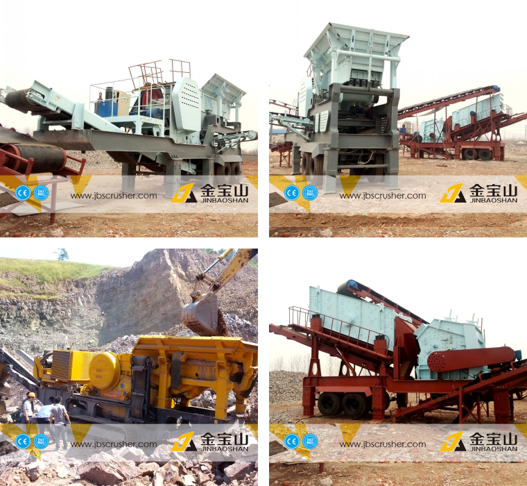 China Supplier Jbs Mobile Vibrating Feeder And Cone Crusher Plant ...