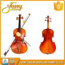 TL002-1 Tongling High Grade Student Massive Fichten <span class=keywords><strong>Violine</strong></span> Mit Ringe