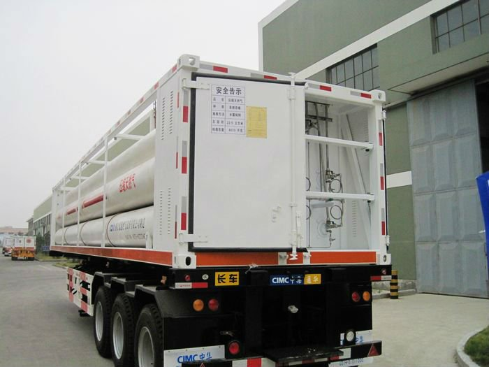 10 buis CNG cascade container