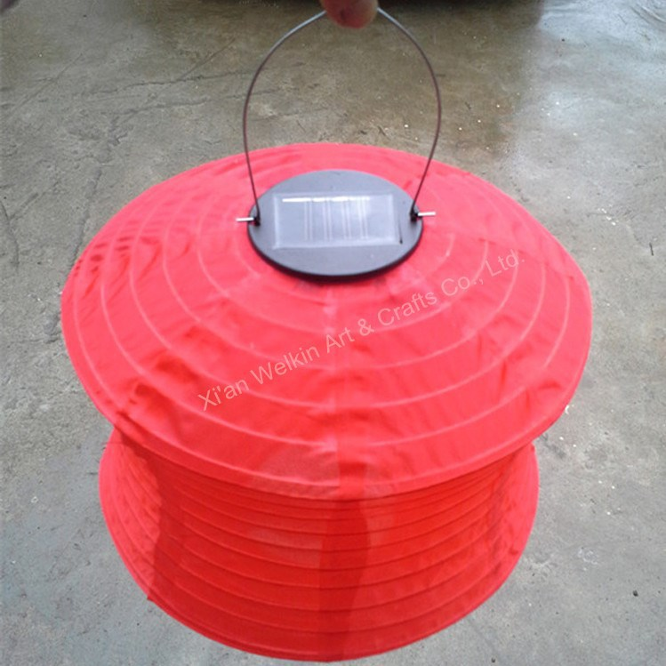 Large Nylon Solar Chinese Lantern