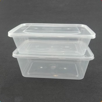 Portable Disposable Plastic Microwave Food Container