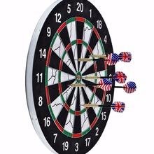 18-inch Champion Tournament Dartboard, Double-sided Flocking Dart Board