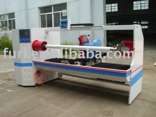 Automatic Protective Film And Adhesive Tape Roll Cutting Machine