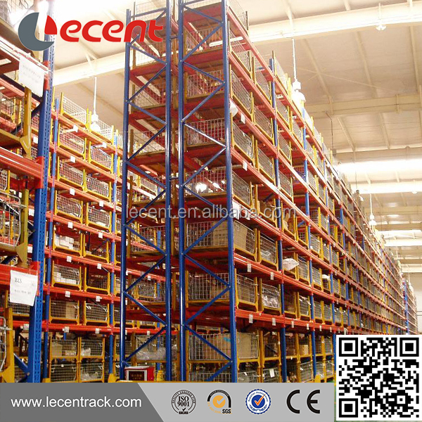 Customized Size heavy duty selective stacking teardrop pallet rack