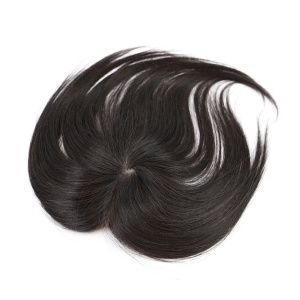High Quality Natural Indian Remy Hair Mens silk hair Toupee custom hair ties