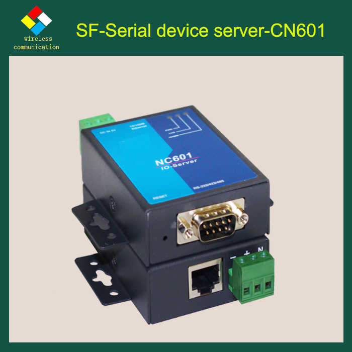 SF-LINK 1 port serial device server Support HTTP, TCP, UDP, ARP, ICMP, DNS and DHCP protocol