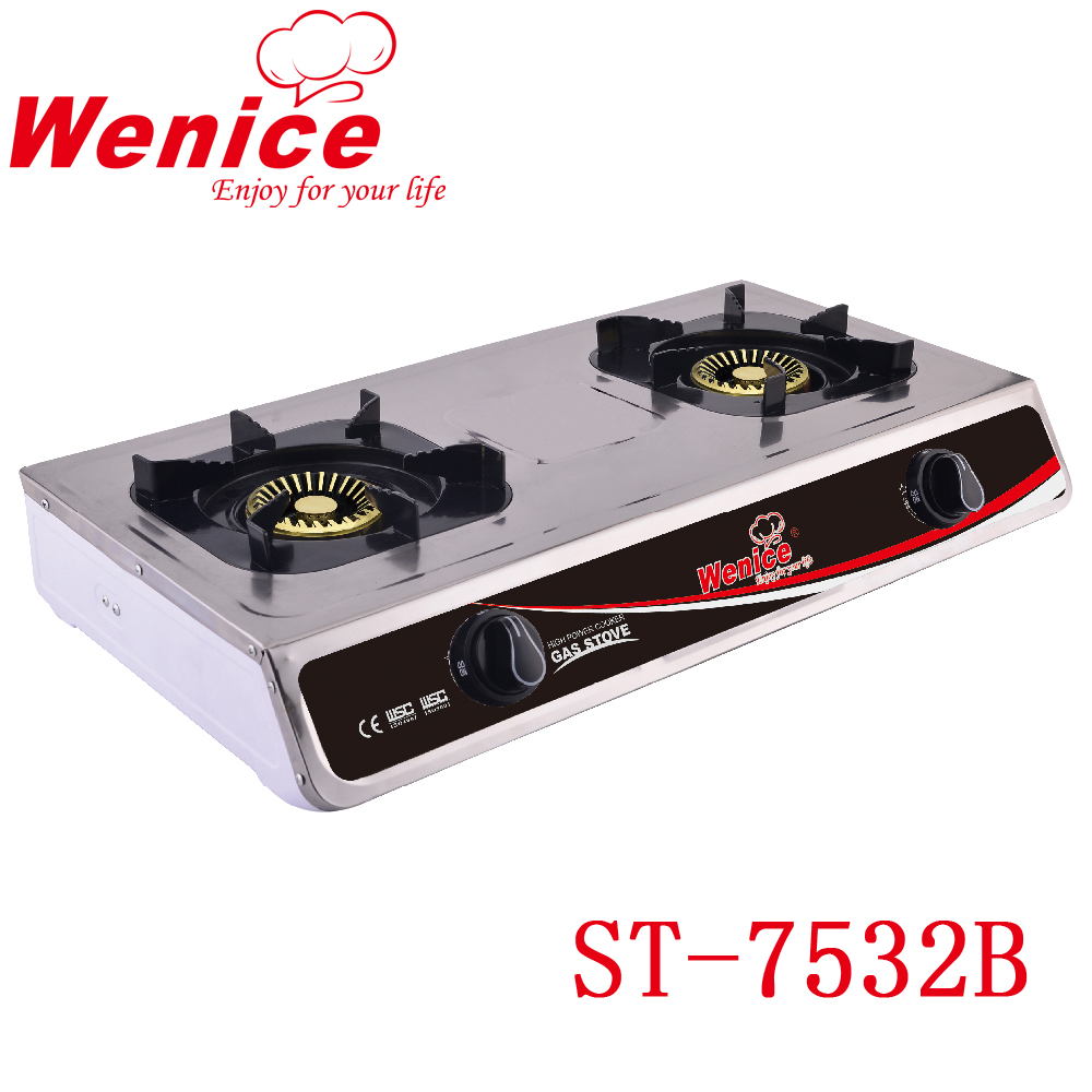 NG/LPG two burner gas cooking stove /homeuse gas rangs /food cooker