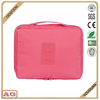 Customized Korea style waterproof toiletry bag small nylon travel cosmetic bag