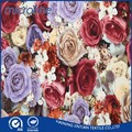 Hot sale printed flower velvet upholstery fabric in EU market