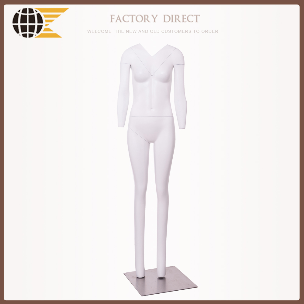 fashion female headless ghost mannequin with invisible structue