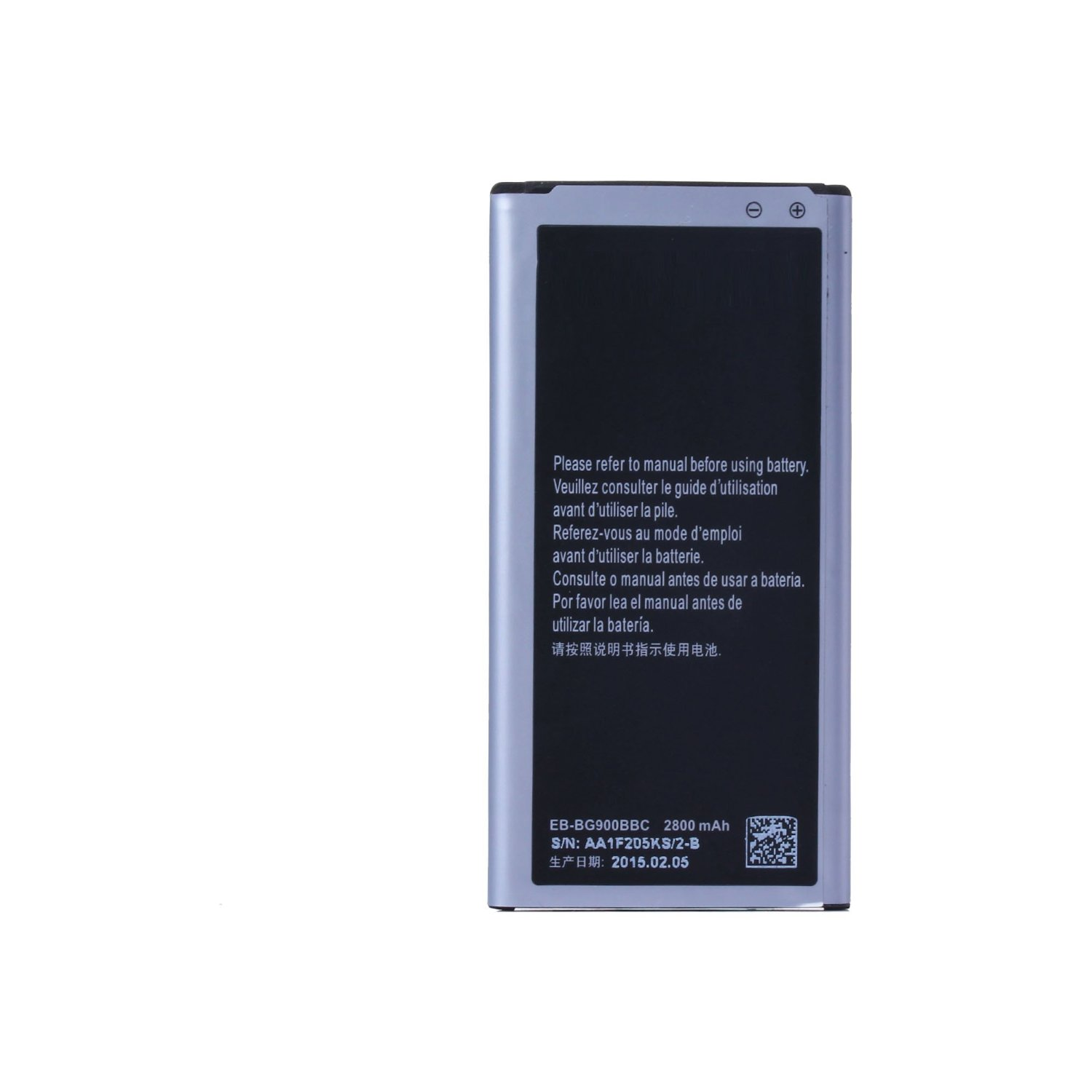 PowerFull Tech Genuine Battery EB-BG900BBC EB-BG900BBE EB-BG900BBU For Samsung Galaxy S5 SM-G900F / Samsung Galaxy S5 SM-G900T / Samsung Galaxy S5 SM-G900P / Samsung Galaxy S5 SM-G900A / Samsung Galaxy S5 SM-G900AZ / Samsung Galaxy S5 SM-G900T1 / Samsung Galaxy S5 SM-G900R6 / Samsung Galaxy S5
