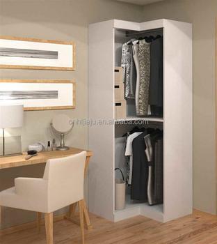 corner bedroom furniture. White Solid Wood Corner Wardrobe/Small Simple Wardrobe/Bedroom Furniture Bedroom