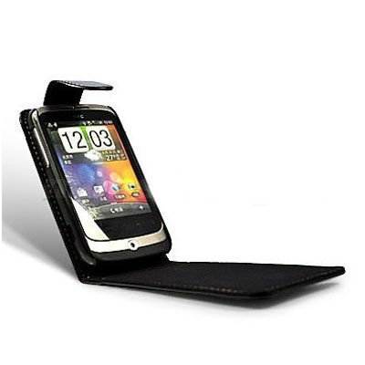 Leather phone case for HTC wildfire G8