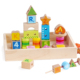 High Quality preschool building blocks 35pcs Wooden Educational Kid building blocks toys