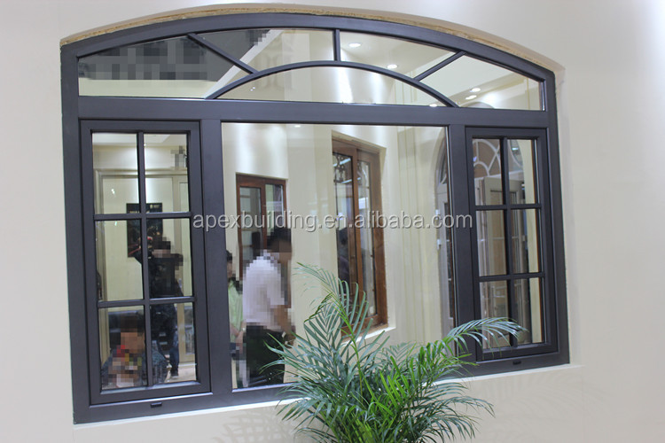 Arch Design Aluminum Casement Window Sliding Door French