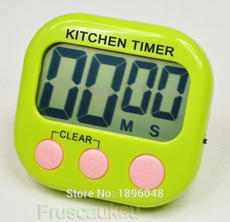 Wholesale Hot Sale Large LCD Count Down Up Clock Kitchen
