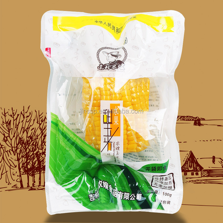 Super Sweet <strong>Corn</strong> Cut Fresh Ready to Eat Vacuum Packed Non-GMO