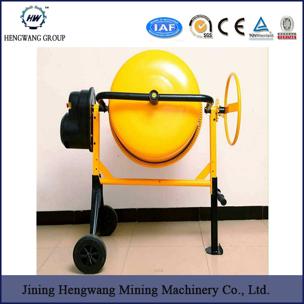 Electric portable plastic drum concrete mixer Promotion mini concrete mixer with best price