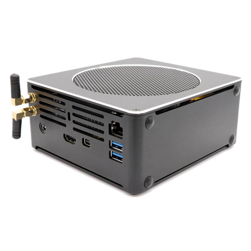 Neueste i9 8th gen Mini gaming pc S200 intel I9-8950HK/i7 8750 H SECHS core Gaming desktop