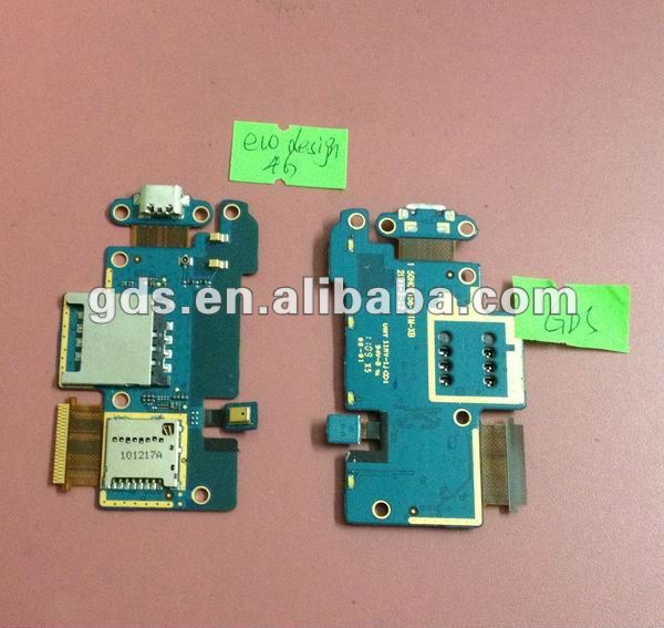 for HTC desrie 4g sim card ,memory card ,microphone,charger connector PCB Assembly flex cable
