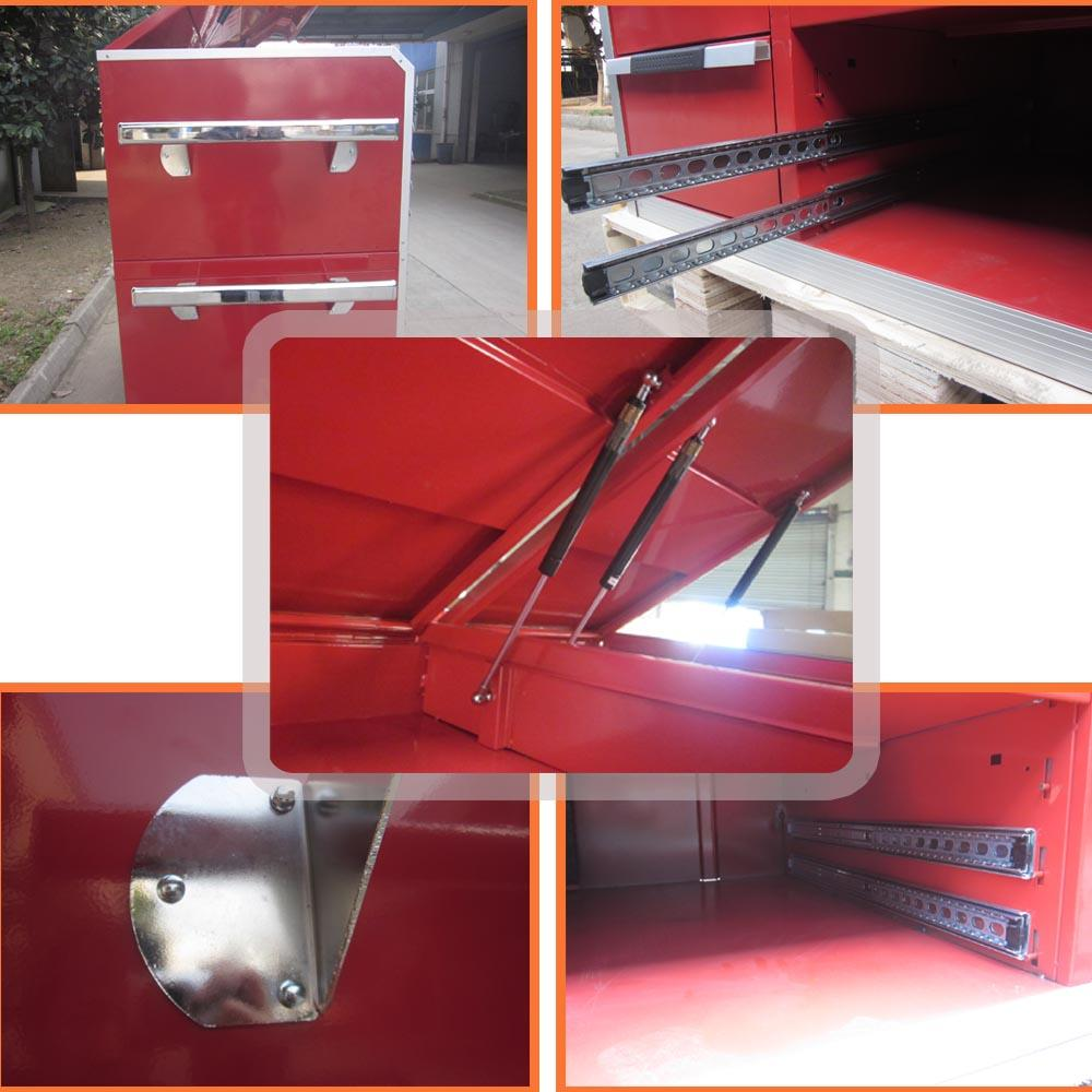 manufacturer red powder coat tool storage tool cabinet
