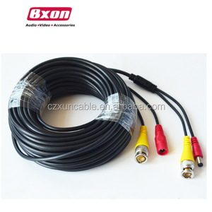 5m BNC DC CCTV Security Video Camera DVR Data Power Extension Cable