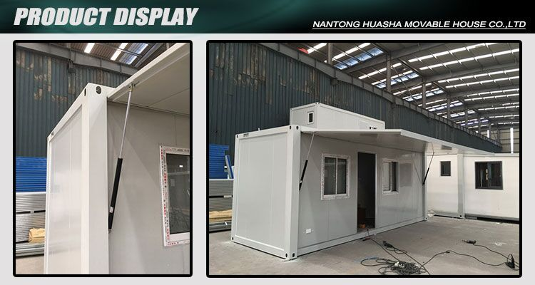 2018 20ft Foldable Ready Made Shipping Container Cafe Bar