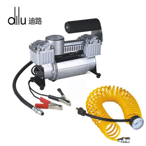 Quickly Inflate 12v air conditioner for car with 12v dc compressor