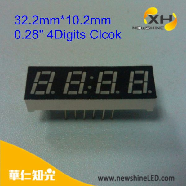 Full color Blue Green Red Common Anode led digital scoreboard display for sports