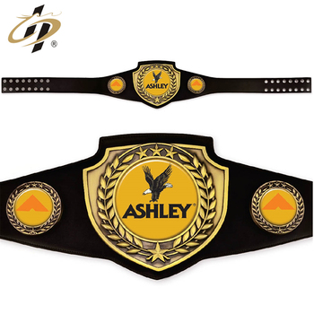 China factory cheap custom metal boxing studded belts for sale