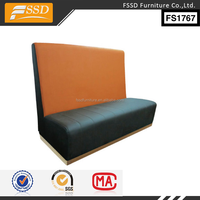 Canada restaurant furniture booth seating sofa OEM FS1767
