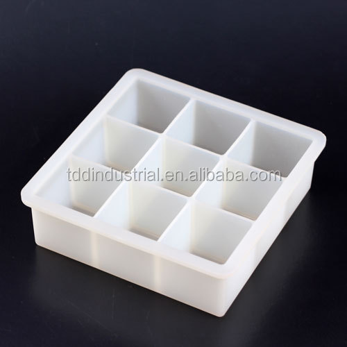 Newest unique silicone square loaf soap mould